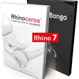 Bundle Rhino 7 und Bongo - Modelling und Animation - kommerzielle Lizenz