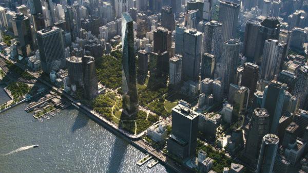 V-Ray Next 3ds Max Cityscape