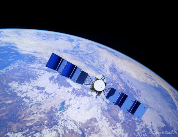 V-Ray Next 3ds Max Dabrti Satellite
