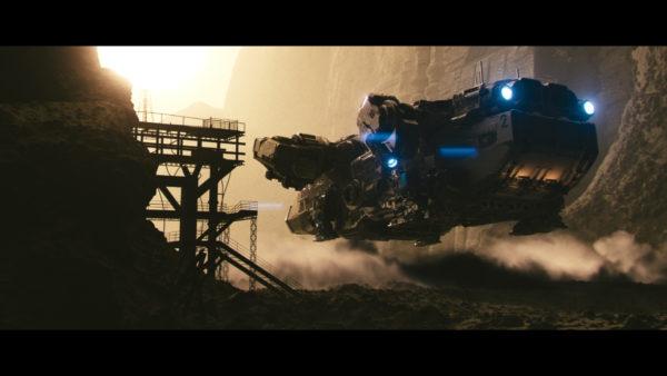 V-Ray Next for Maya Raumschiff