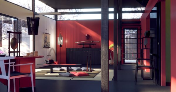 V-Ray for Unreal Innenraum