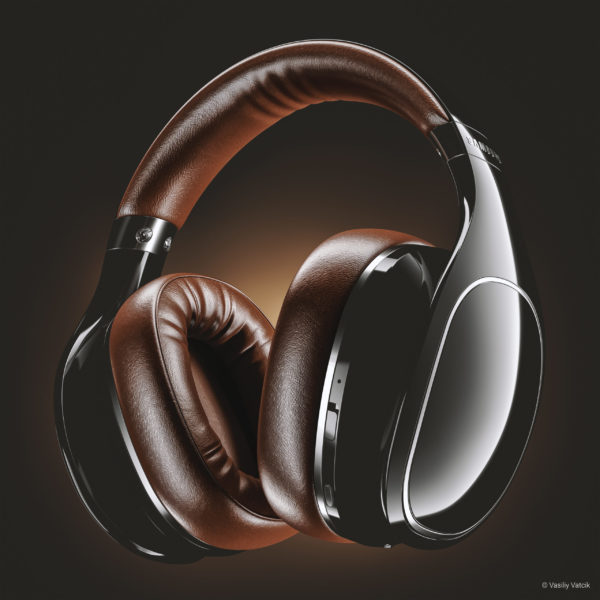 V-Ray Next für Rhino Headphones