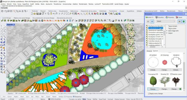 Lands Design - Australian Park