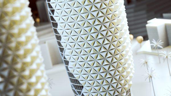 V-Ray 3 für Rhino Gebäude