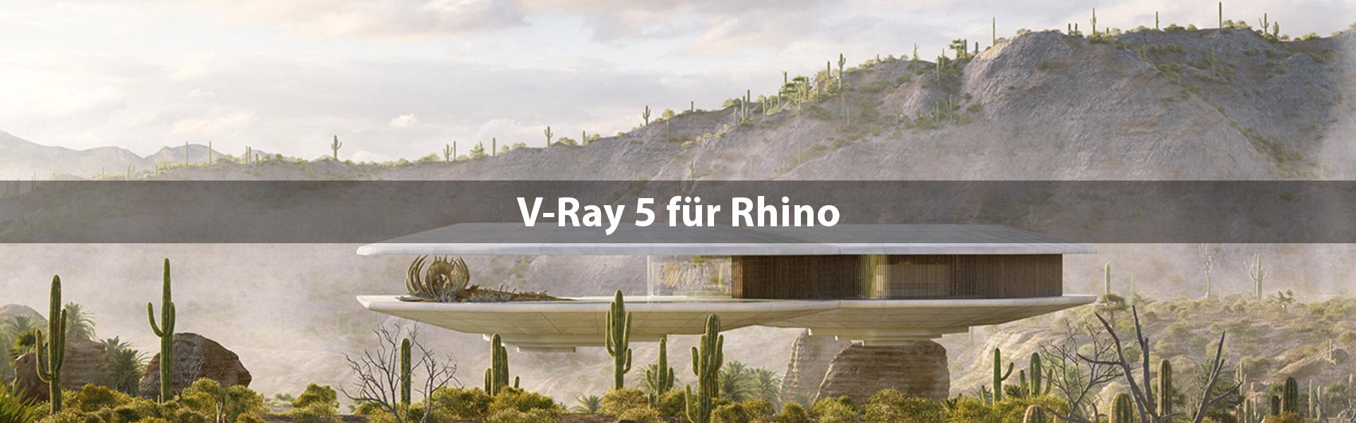 V-Ray 5 für Rhino