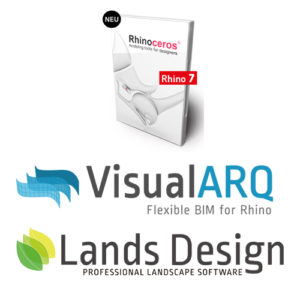 Bundle - Rhino und VisualARQ und Lands Design