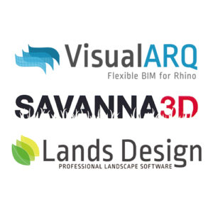 Bundle - VisualARQ und Savanna3D und LandsDesign