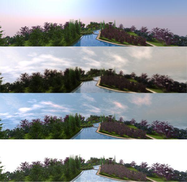 Lands Design- unterschiedliche Ansichten