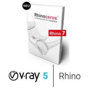 Rhino 7 und V-Ray 5 - Bundle