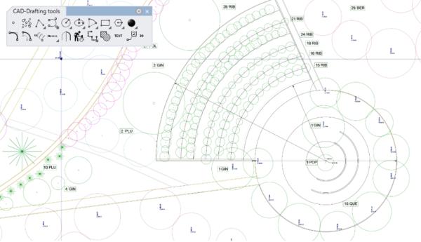 Lands Design - Entwerfen mit 2D Zeichnungswerkzeugen