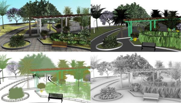 Lands Design - Erscheinungsbild Arbeitsbereich anpassen