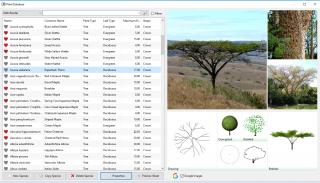 Lands Design - Pflanzendatenbank
