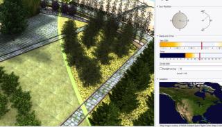 Lands Design - Sonnenanimation
